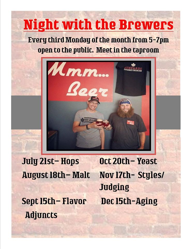 renegade brewing - night with the brewers - dbb - 10-20-14