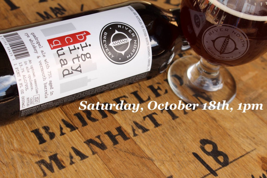 river north brewery big city quad release - dbb - 10-18-14