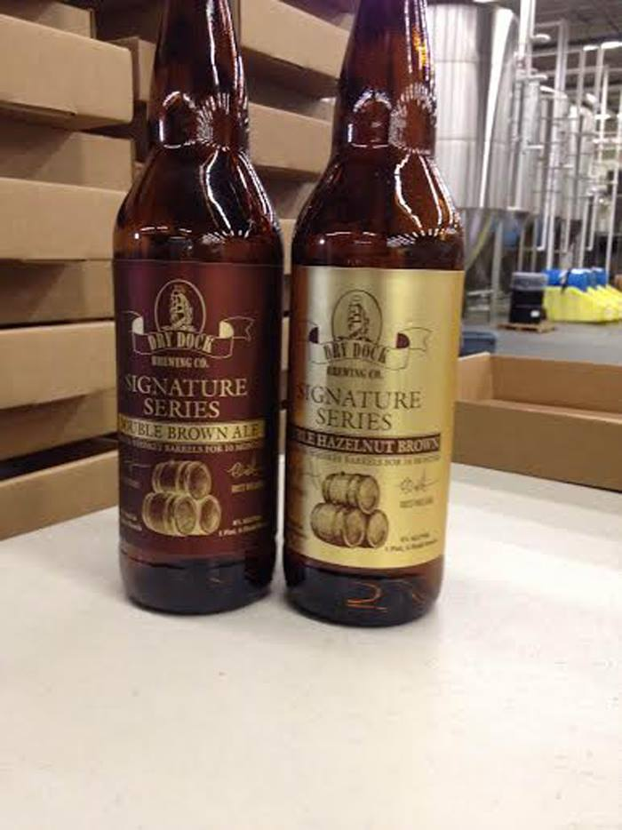 south dock release of double brown ale and double hazelnut brown ale - dbb - 10-31-14