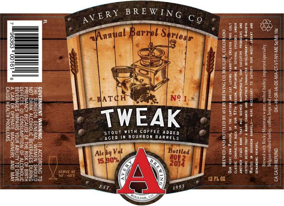 Avery-Tweak-release party