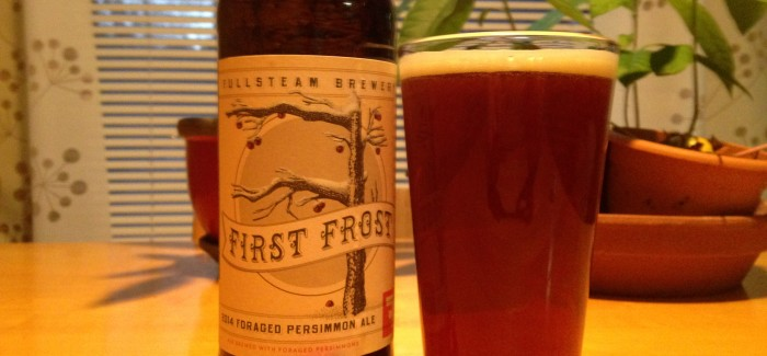 Fullsteam Brewery | First Frost Foraged Persimmon Ale