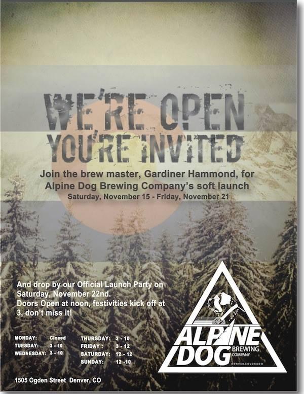 alpine dog brewing co - grand opening - dbb - 11-22-14