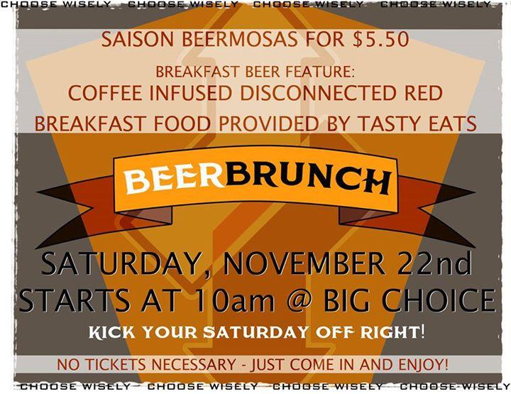 big choice brewing beer brunch - dbb - 11-22-14