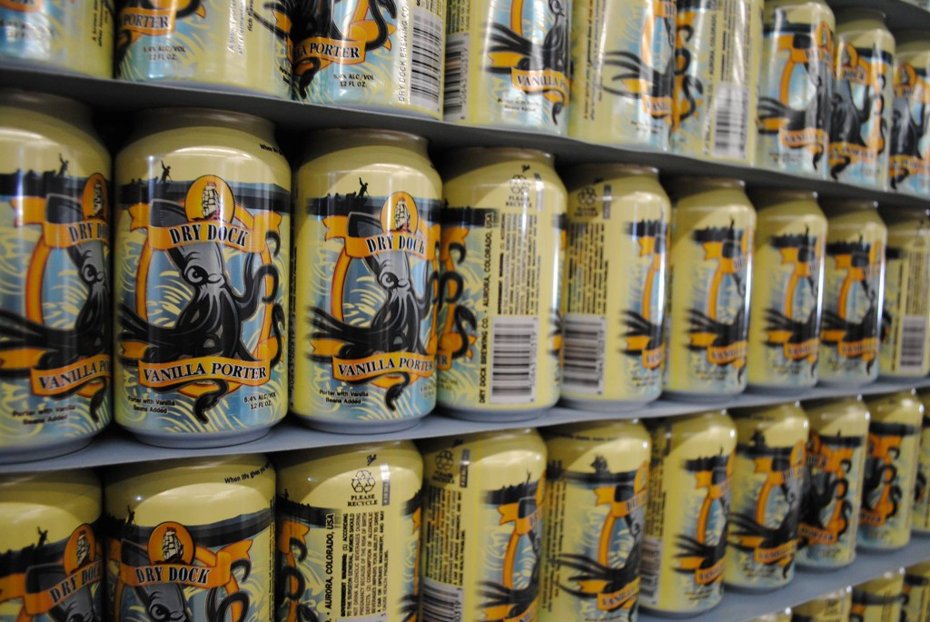 dry dock canned vanilla porter - dbb-11-28-14