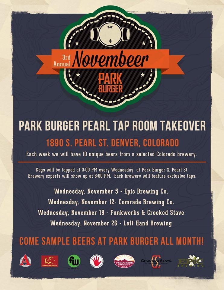 funkwerks tap takeover at park burger -dbb - 11-19-14