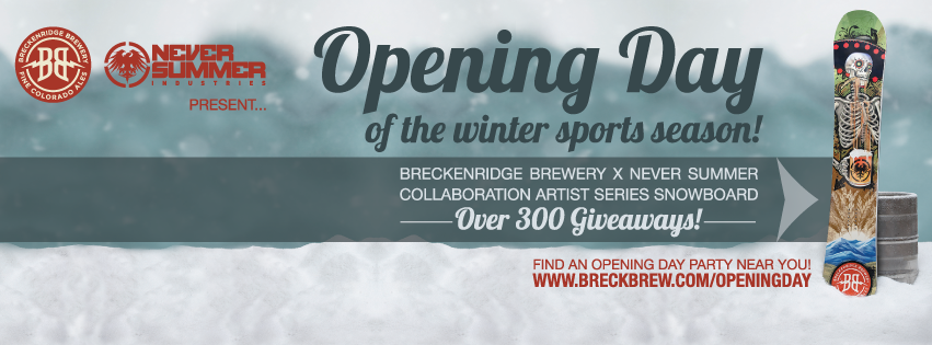 opening day party @ breckenrdige - dbb - 11-07-14