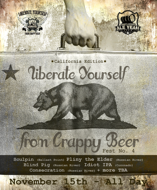 parry's pints liberate yourself no. 4 - dbb - 11-15-14