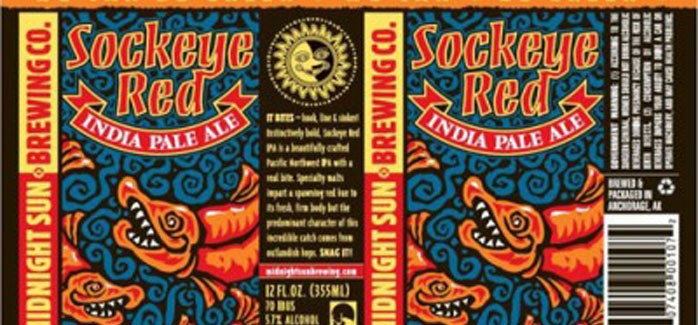 Midnight Sun Brewing Co. | Sockeye Red IPA