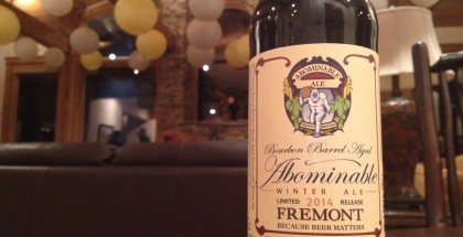 Fremont Brewing Bourbon Barrel Aged Abominable B-Bomb