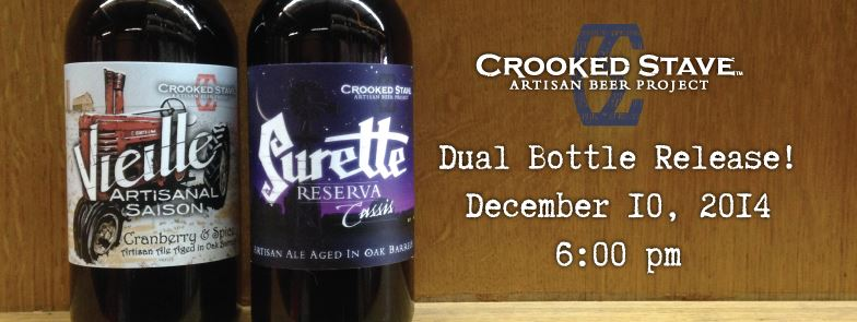 Dual Bottle Release - Crooked Stave - dbb - 12-10-14