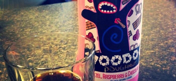 Rogue   Voodoo Doughnut Pretzel, Raspberry, & Chocolate Ale