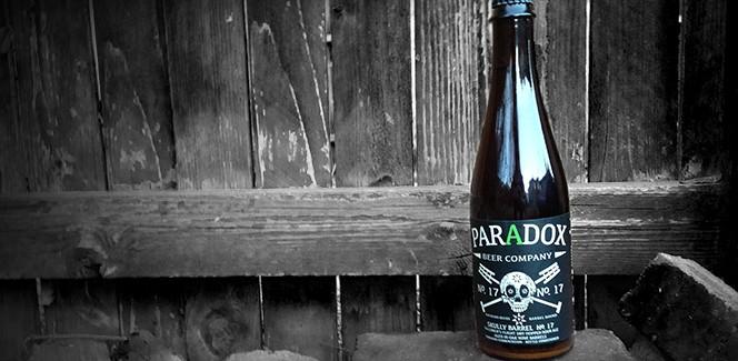 Paradox Beer Company   Skully Barrel No. 17