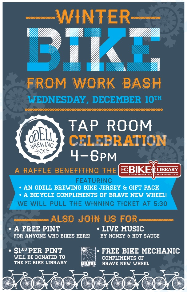 bike from work bash - dbb - odell - 12-10-14