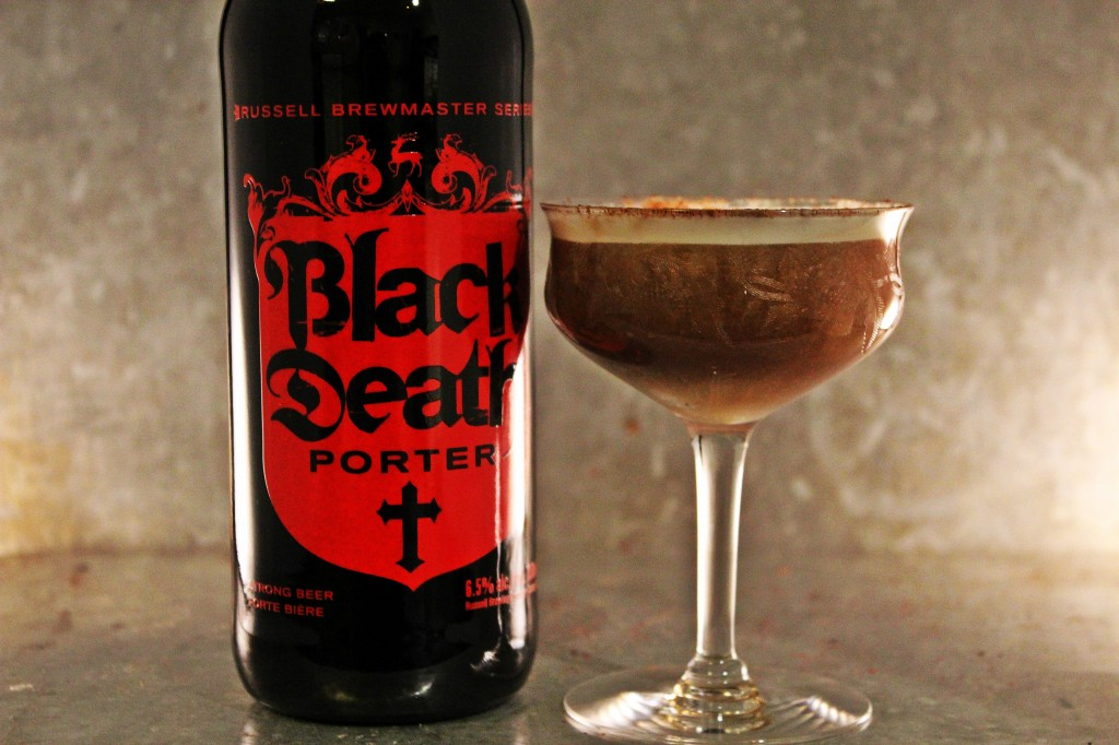 Whiskey & Gingerbread Porter Sour
