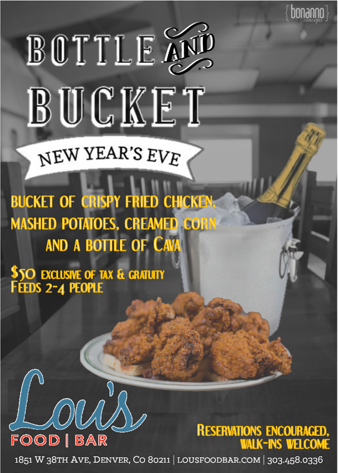 bottle and bucket - lous food bar - dbb - 12-31-14