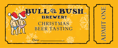 bull and bush - christmas beer tatsting - 2014