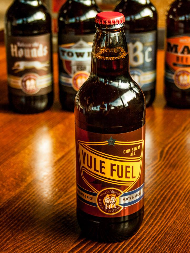 Bull & Bush - yule fuel