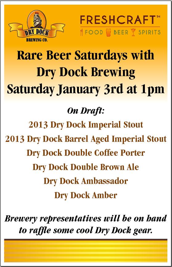 freshcraft - dry dock- rare beer - dbb - 01-03-15