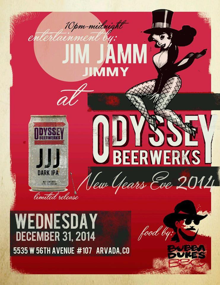 odyssey beerwerks - NYE JJJ IPA Release - dbb - 12-31-14