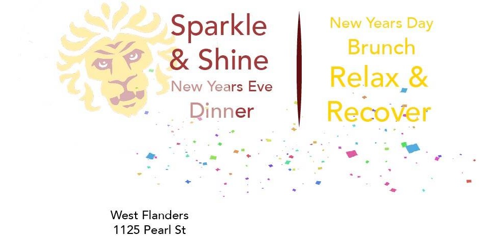west flanders - sparkle & shine NYE and NYD Relax & Recover Brunch - dbb - 12-31-14