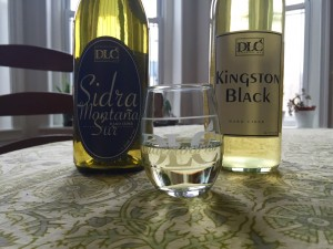 I took home a bottle of Sidra and barrel-agree Kingston Black.