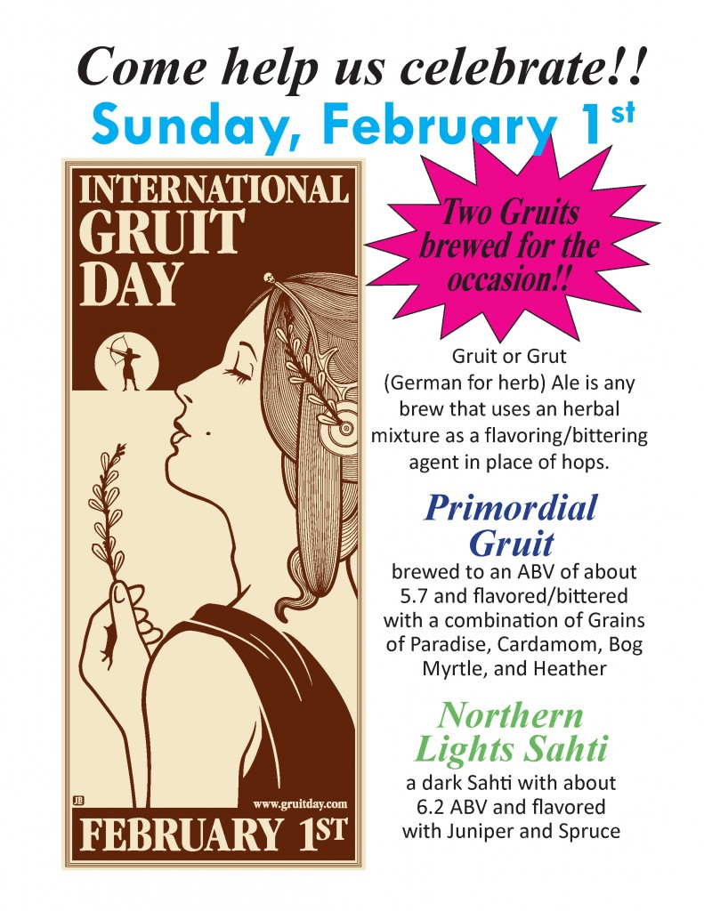 Gruit Day 8.5 x 11 Poster