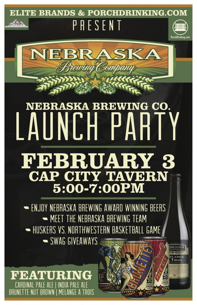 Nebraska Brewing launch updated