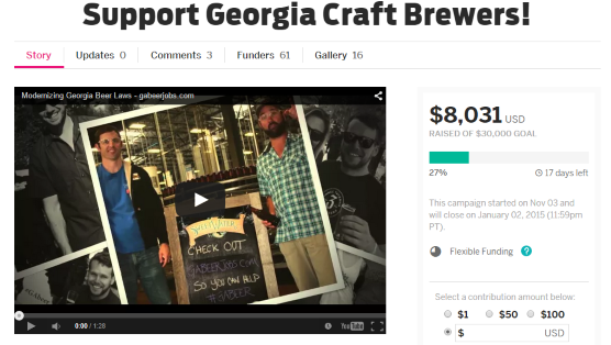 Georgia Craft Brewers