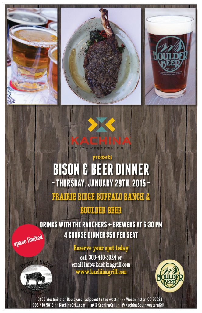 kachina bison and beer dinner - dbb - 01-29-15