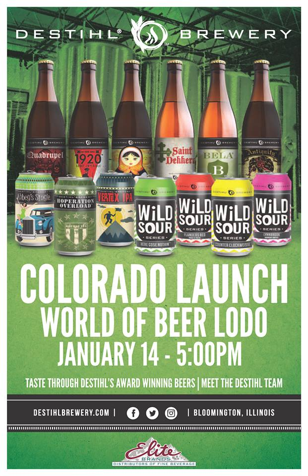 world of beer Destihl Colorado