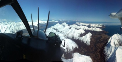 The scenic approach to Kodiak Island.