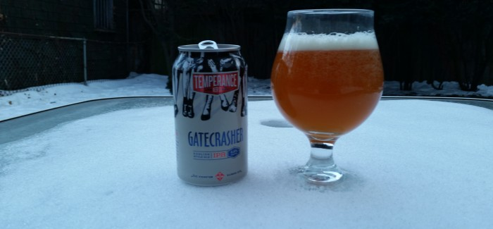 Temperance Beer Co. | Gatecrasher IPA