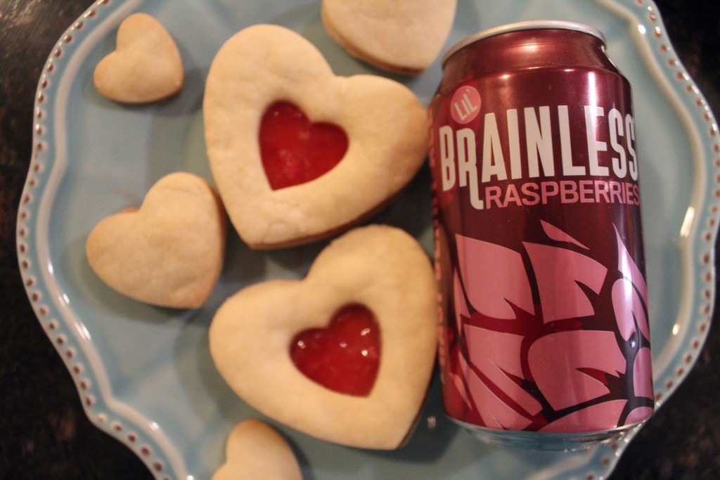 Cooking with Beer | Lil' Raspberry Cookies