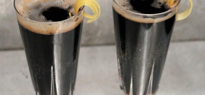 Beer Cocktails | Black Velvet