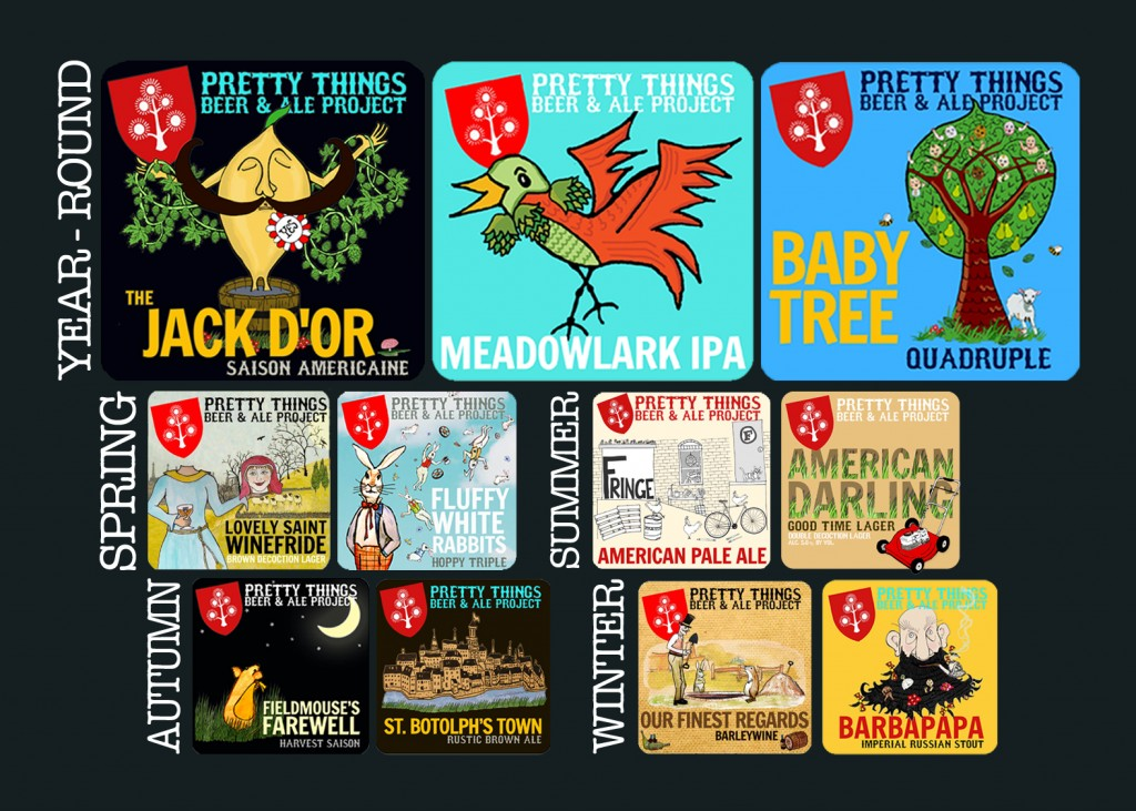Pretty Things Beer and Ale Calendar