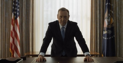 President Underwood takes his office.