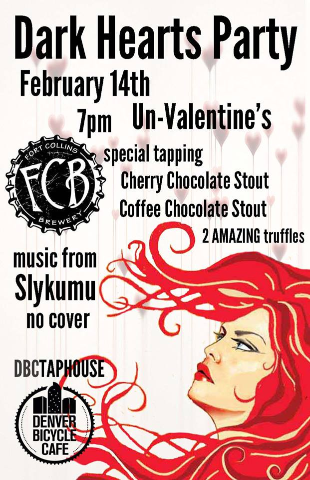 dark hearts party - denver bicycle cafe - dbb - 02-14-15
