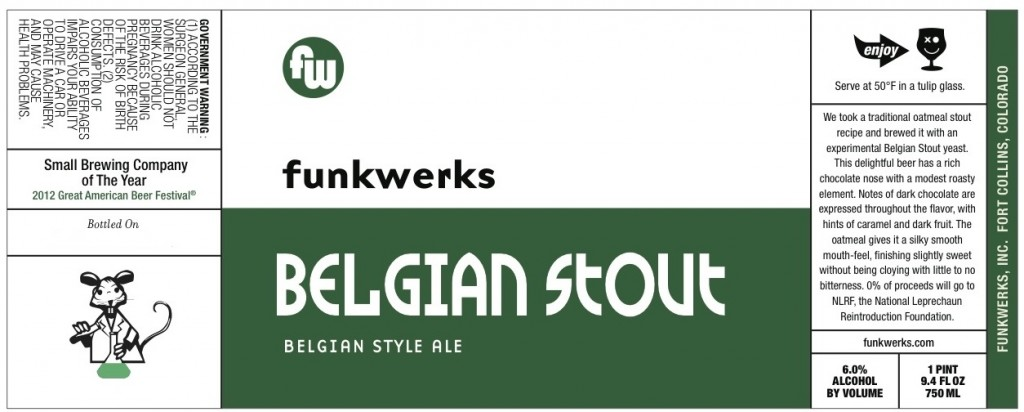funkwerks - belgian stout - dbb - 02-21-15