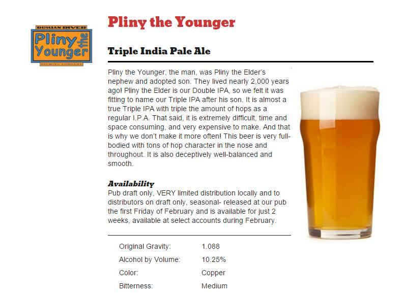 pliny the younger - falling rock - dbb - 02-21-15