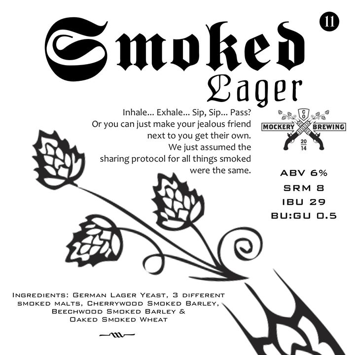 smoked lager release - mockery - dbb - 02-06-15