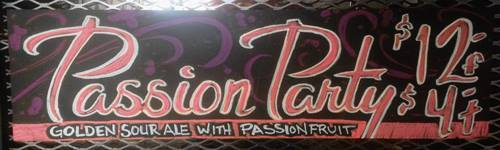 tap it tuesday - dbb - passion fruit - 02-10-15