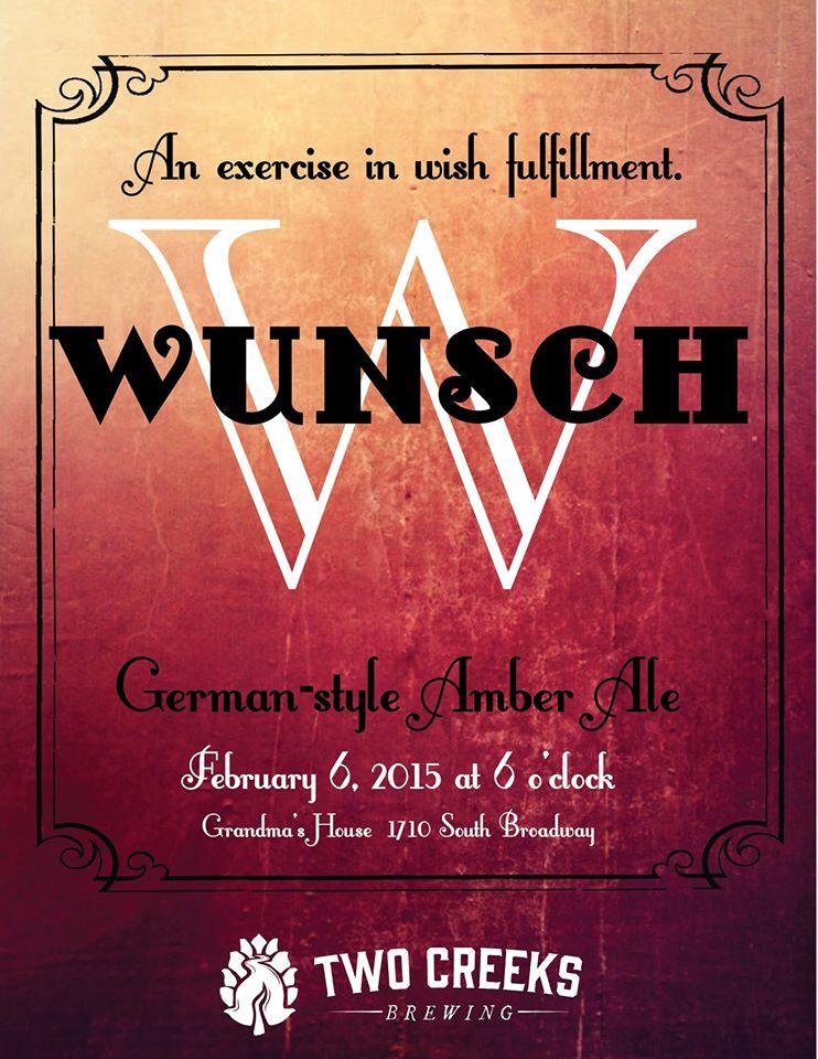 wunsch beer release - grandmas house - dbb - 02-06-15