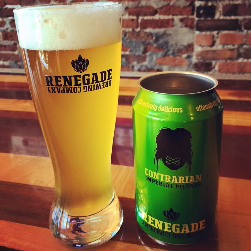 Contrarian Release at Renegade Brewing - dbb - 03-12-15