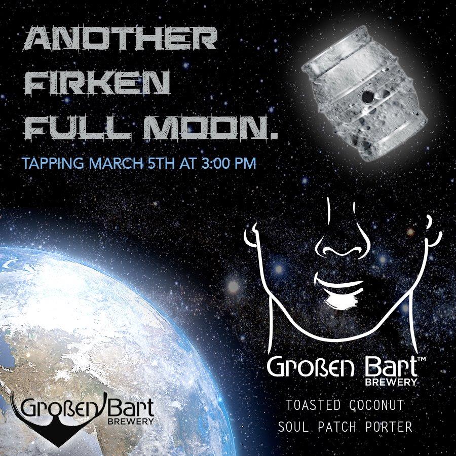 Großen Bart Brewery - full moon firkin tapping - dbb - 03-05-15