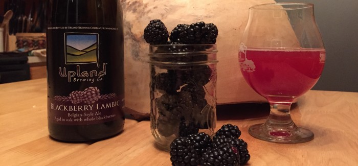 Upland Brewing Co. | Blackberry Lambic