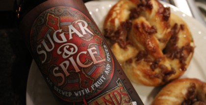 Cooking with Beer Apple Cinnamon Pretzels