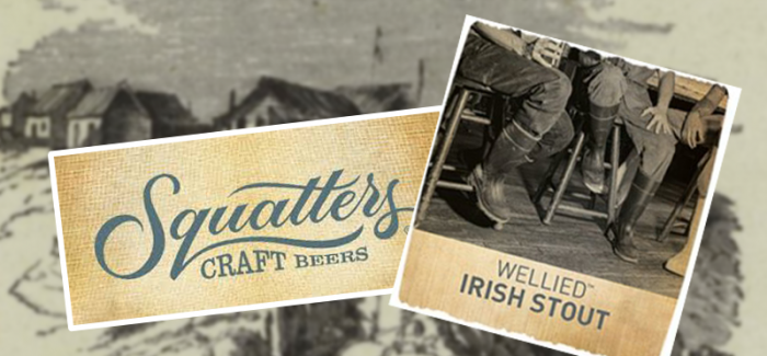 Squatters Brewery | Wellied Irish Style Stout