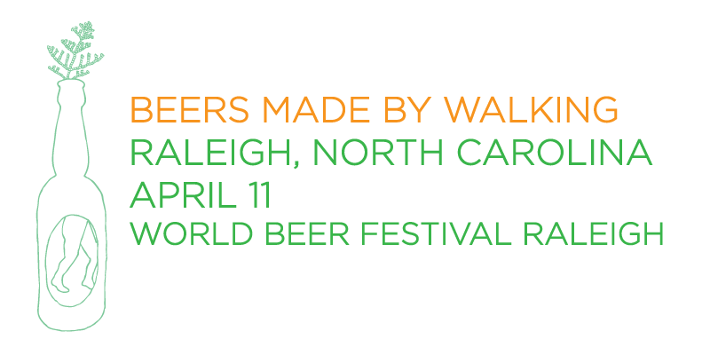 Beers Made by Walking World Beer Festival