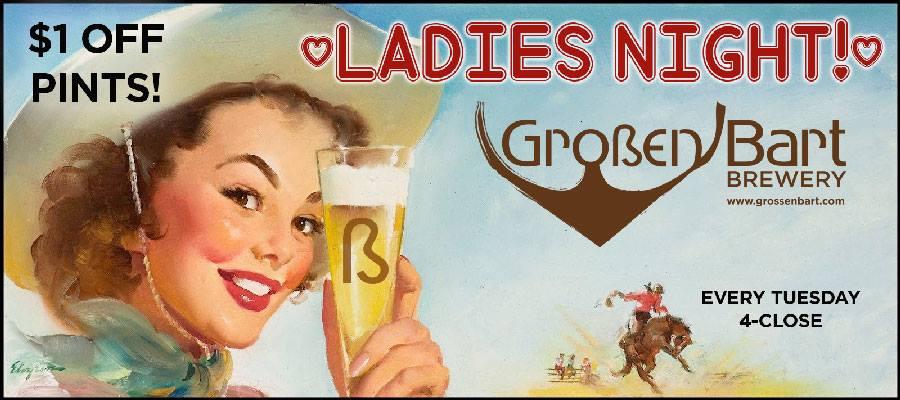 ladies night -  Großen Bart Brewery - dbb - Tuesdays