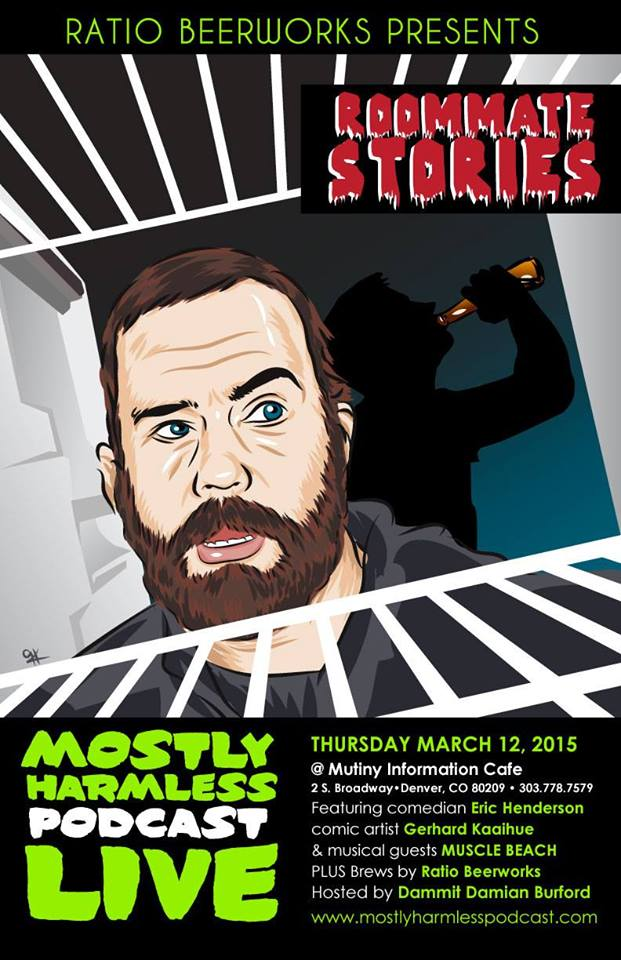 ratio beerworks presents - mostly harmless podcast live - mutiny cafe - dbb - 03-12-15